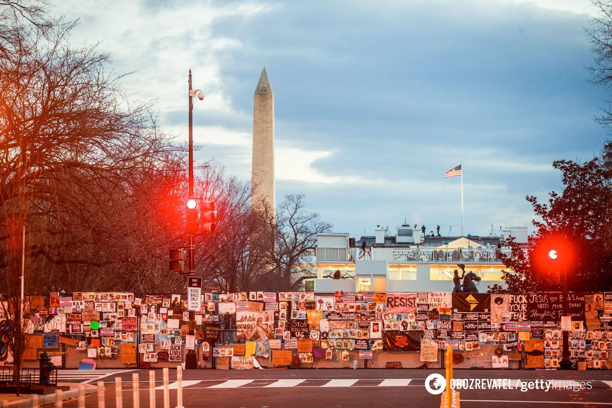 Мітинги у Вашингтоні напередодні інавгурації Байдена