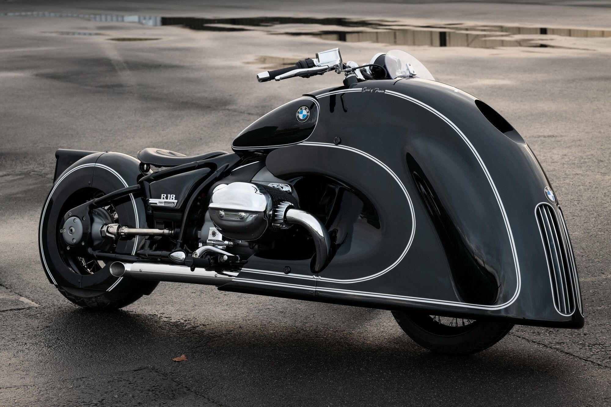 """""""Spirit of Passion"""" створений на базі серійного """"круїзера"""" BMW R 18"""