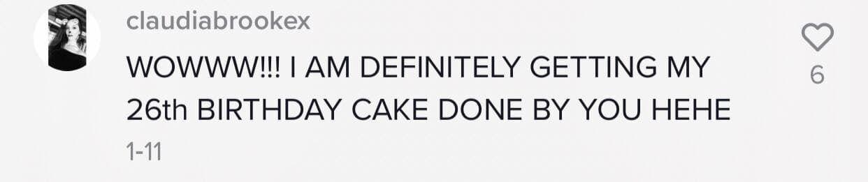 Пользователи сети прокомментировали видео с тортом