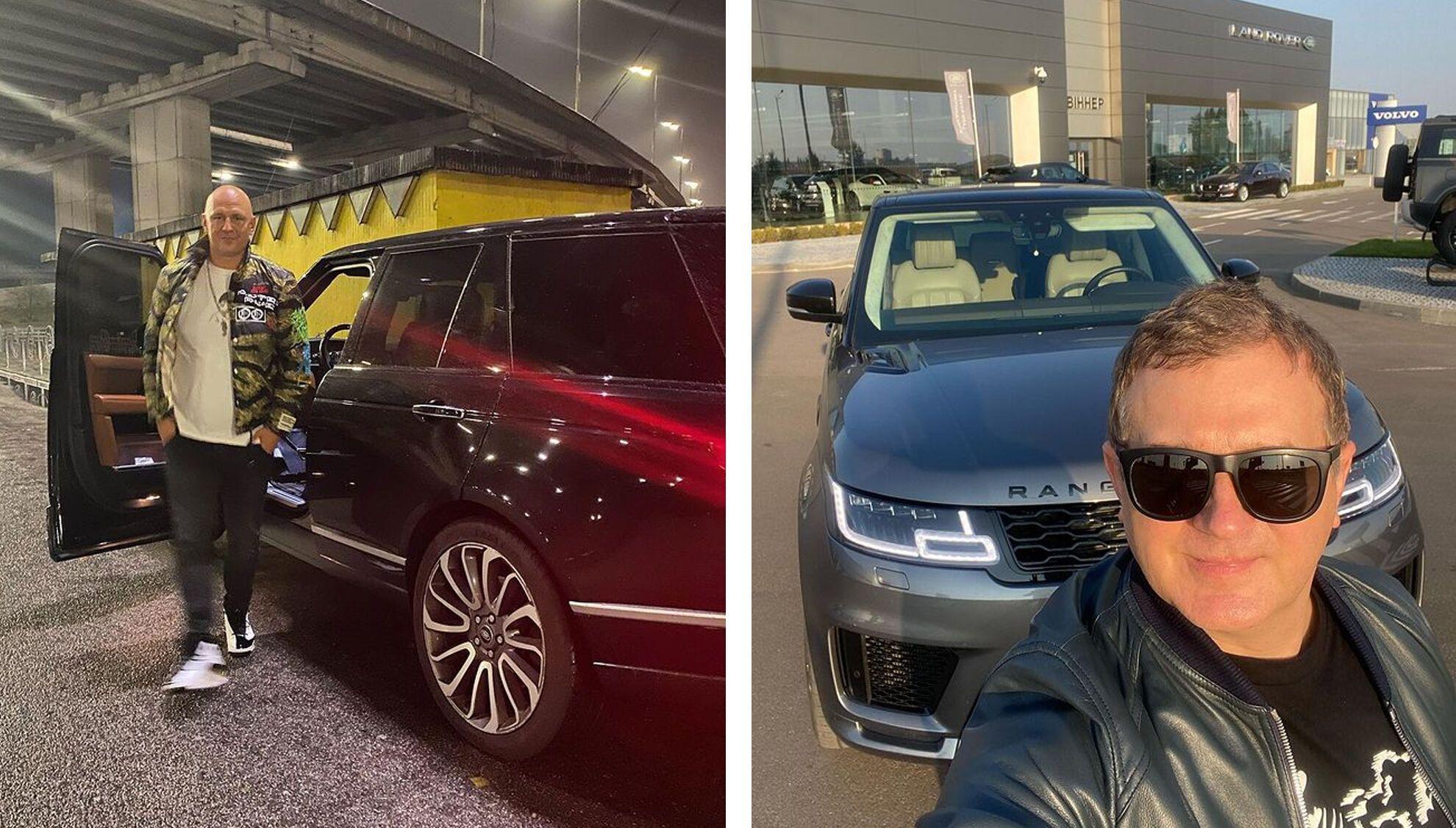 Алексей Потапенко и Юрий Горбунов предпочитают Range Rover.