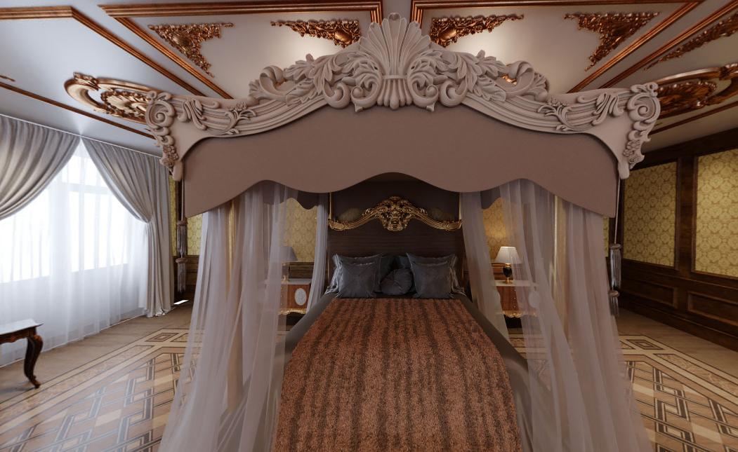 Спальня Путина