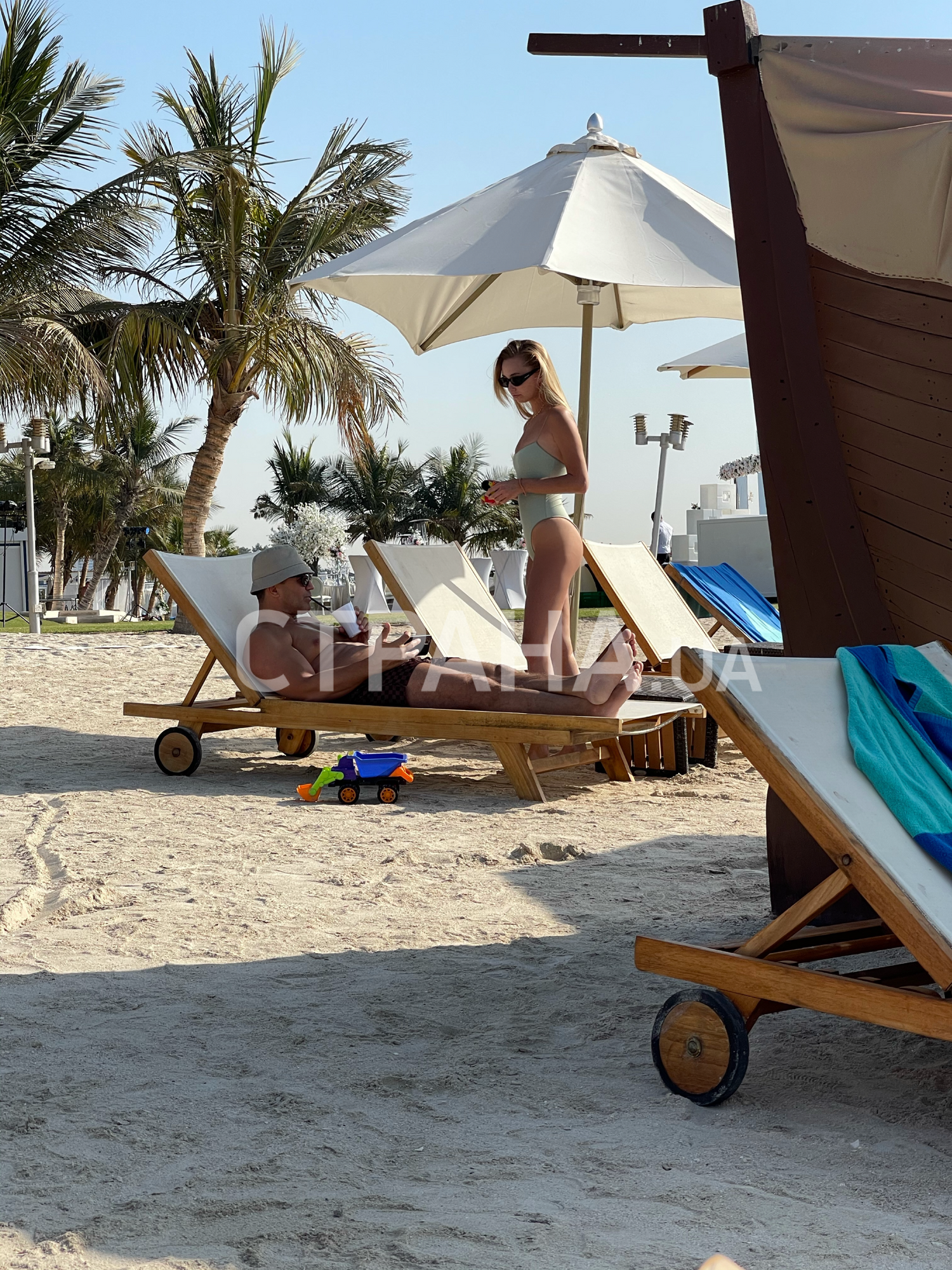 Відпочинок Тищенкаі з сім'єю в Дубаї.