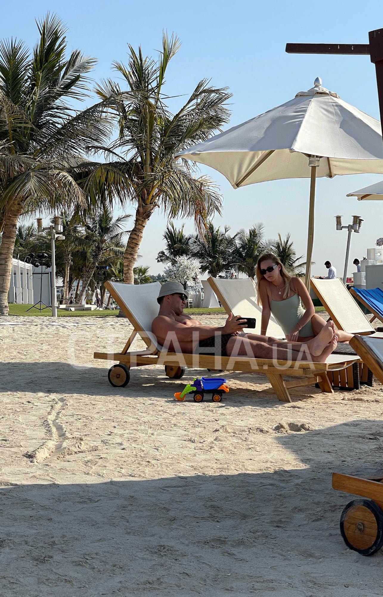 Відпочинок Тищенка із сім'єю в Дубаї.