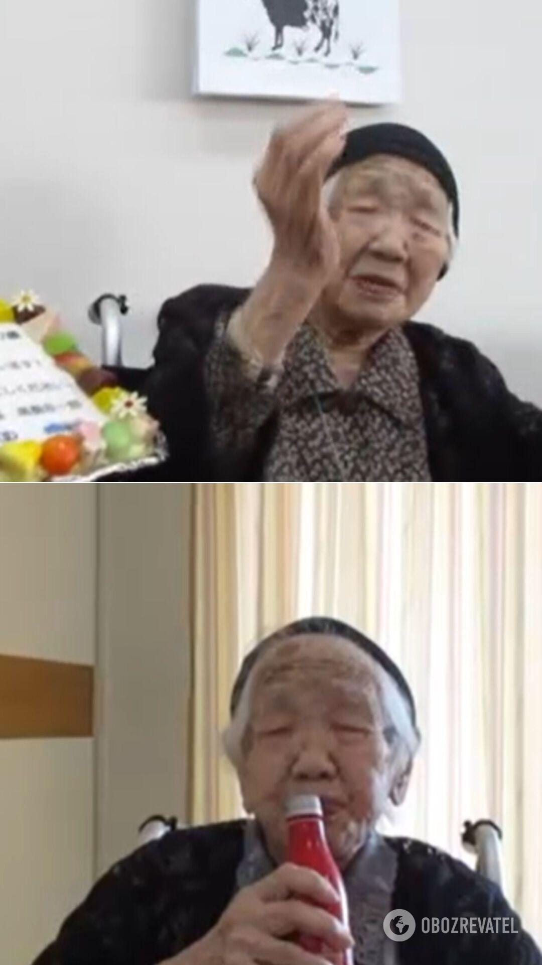 Канэ Танка отпраздновала 118-й день рождения