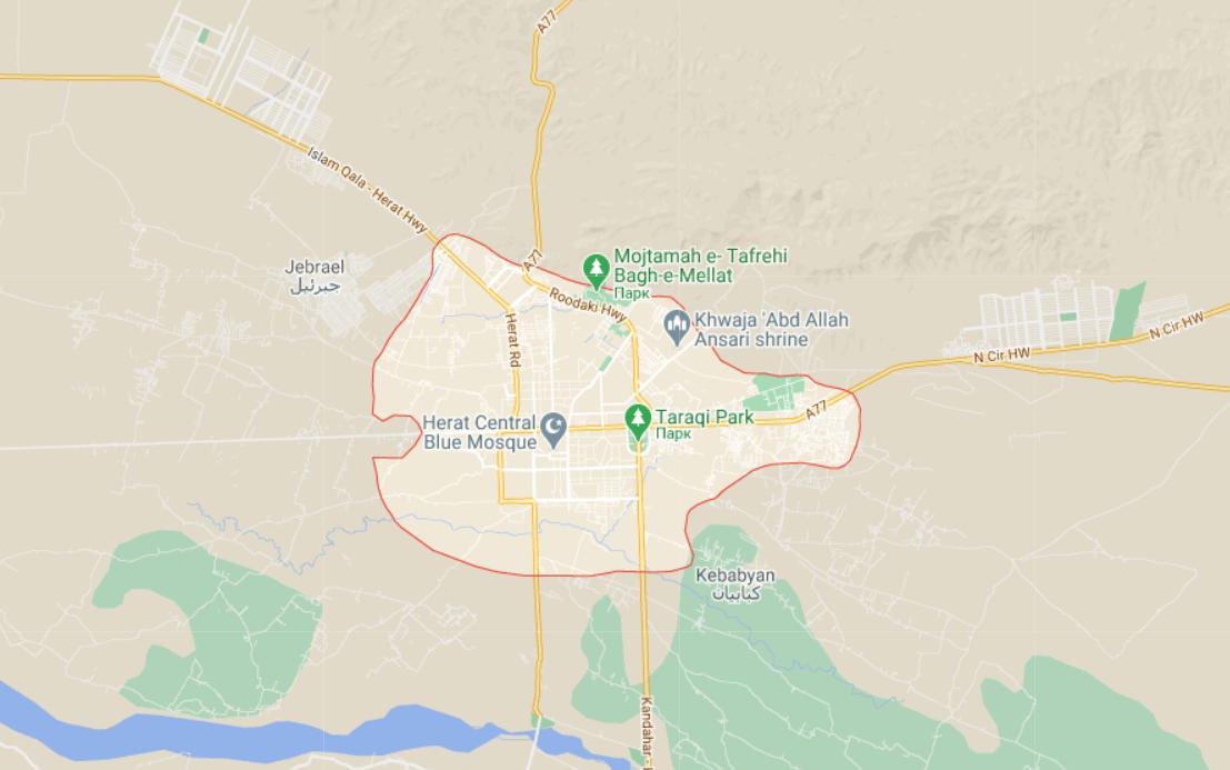 Захоплення трапилося в провінції Герат