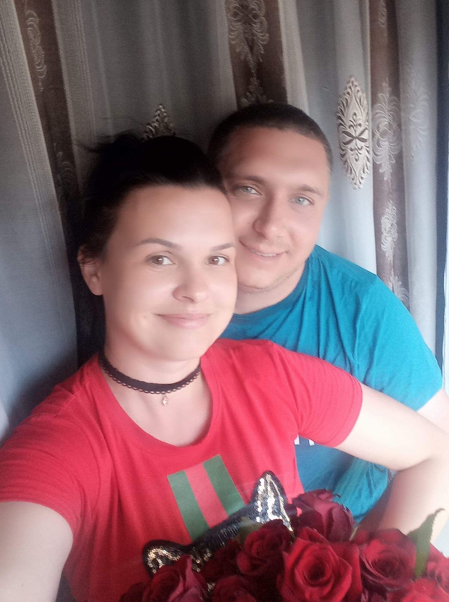 Рустам із дружиною Оленою