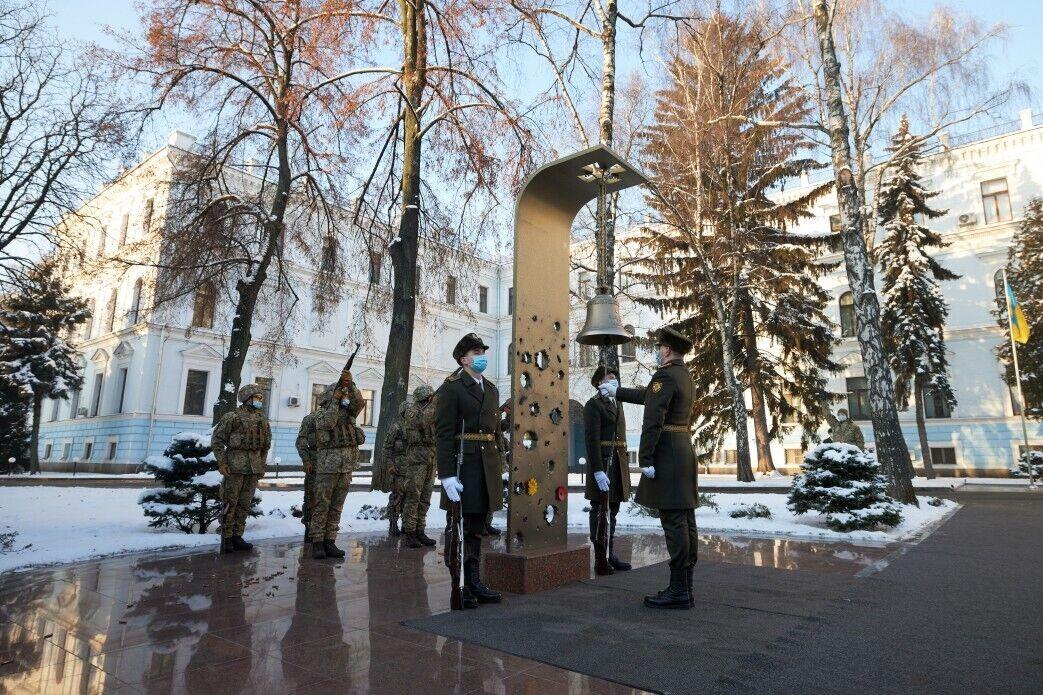 Церемония чествования памяти погибших Героев