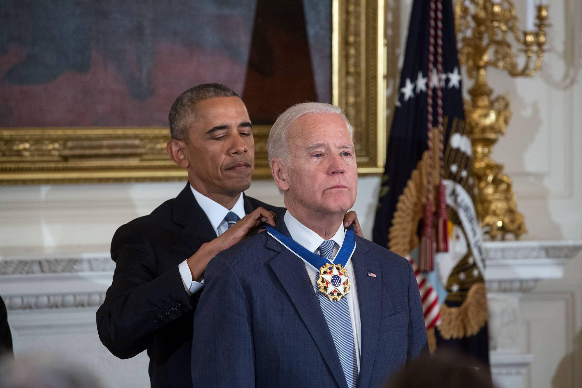Байден обіймав посаду віцепрезидента за правління Барака Обами