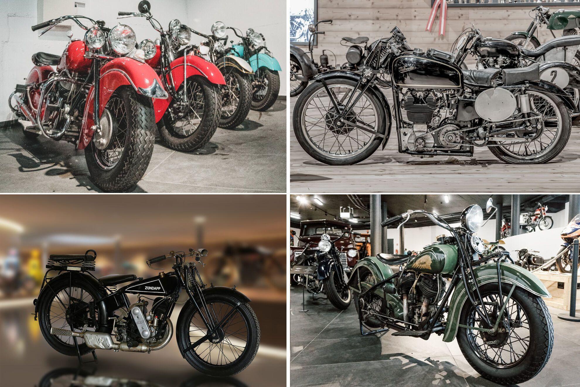 Побачити рідкісні мотоцикли з колекції тепер можна тільки на фотографіях на фірмовому сайті музею