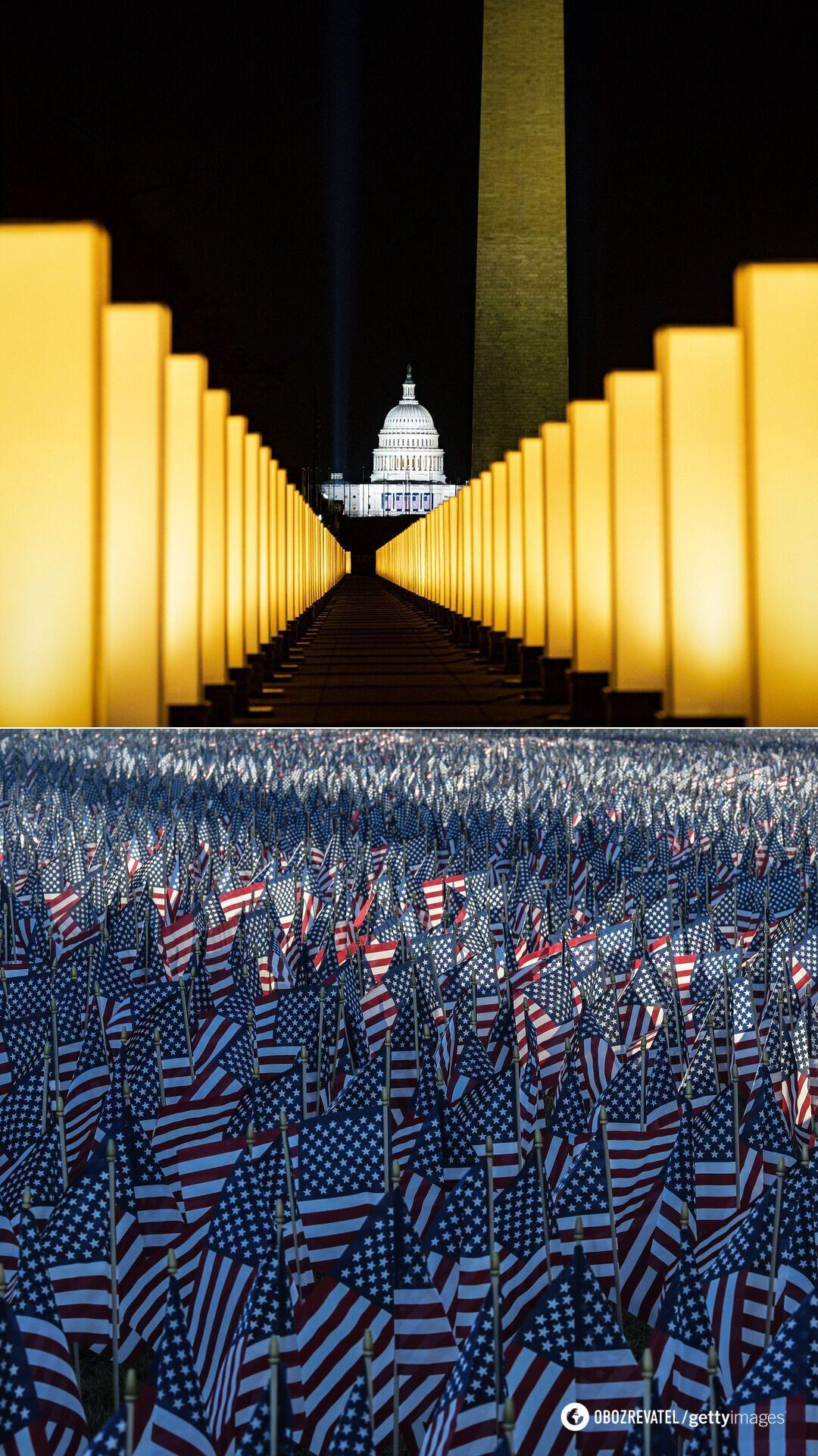 Украшенный Вашингтон