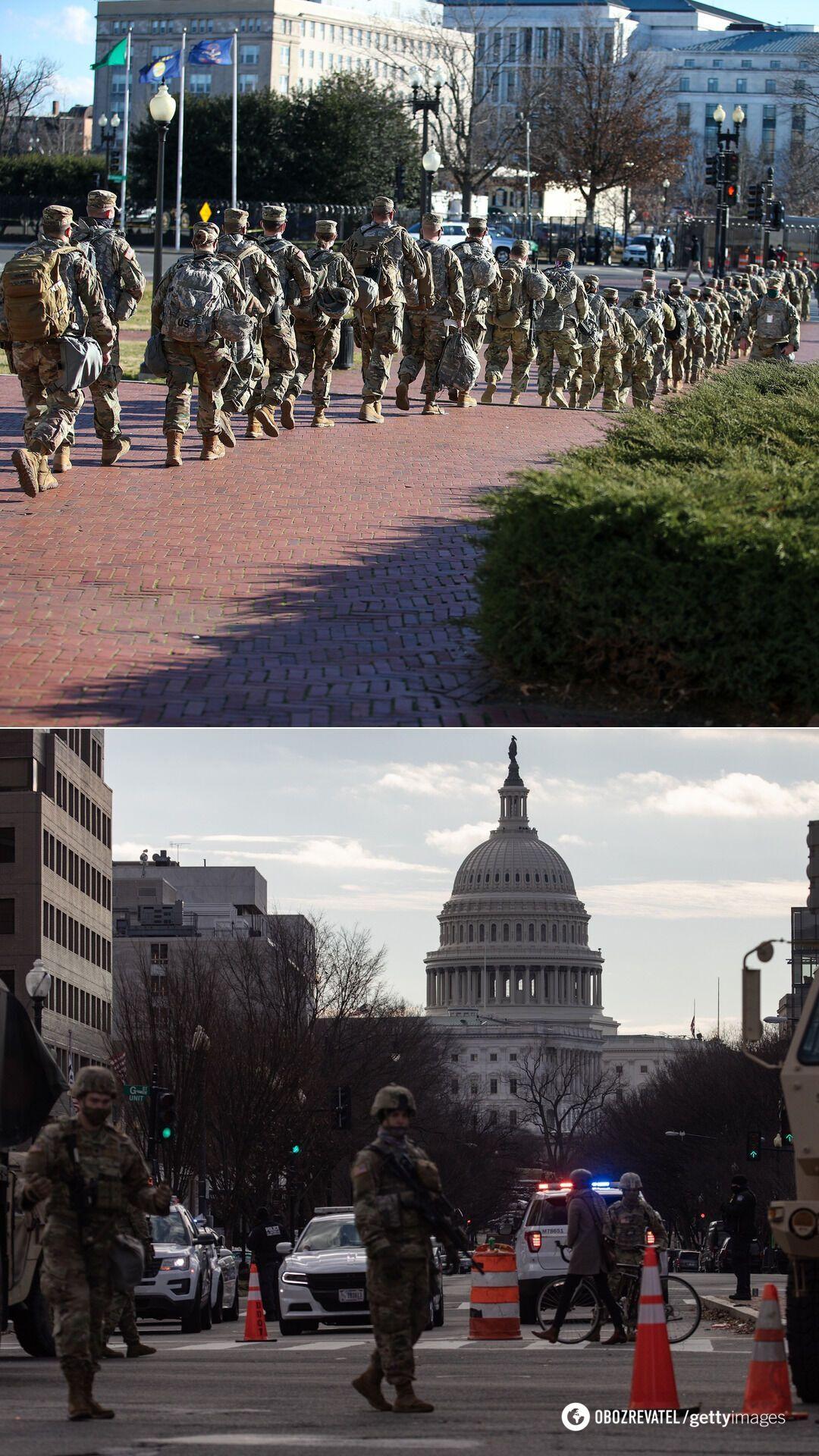 Центр Вашингтона был перекрыт