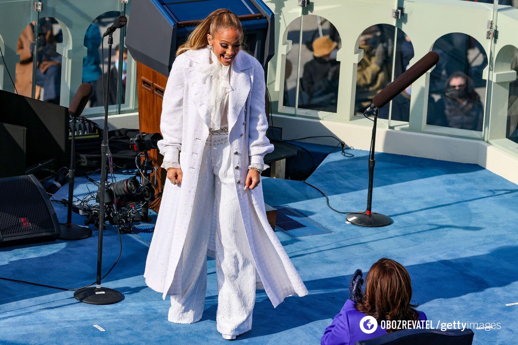 Дженніфер Лопес заспівала на інавгурації Байдена