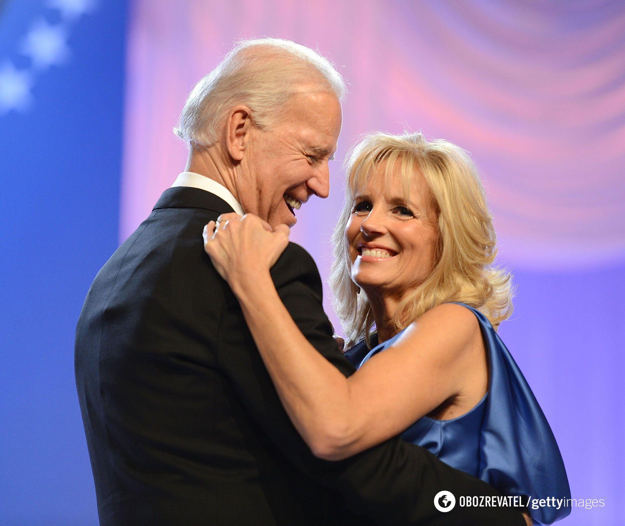 Джо і Джилл Байден під час інавгураційного балу. 2012 рік