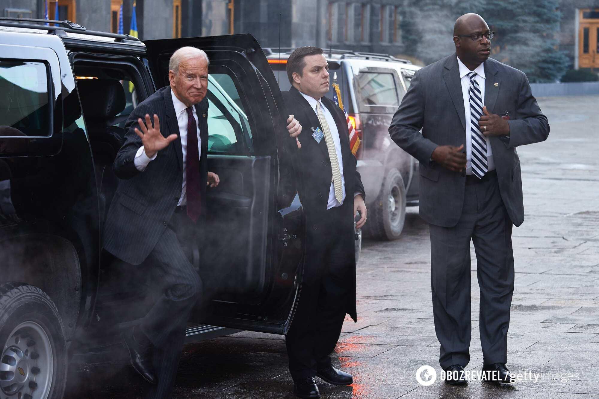 Віцепрезидент США Джо Байден під час візиту до Києва, 16 січня 2017 року