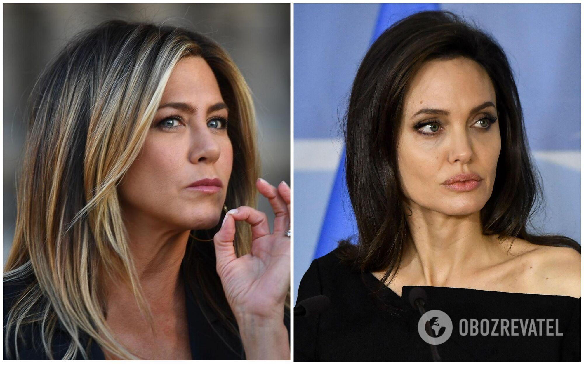 Ворожнеча між Джолі й Еністон триває вже понад десять років