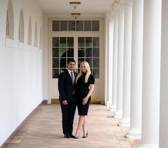 Тиффани Трамп и Майкл Булос.