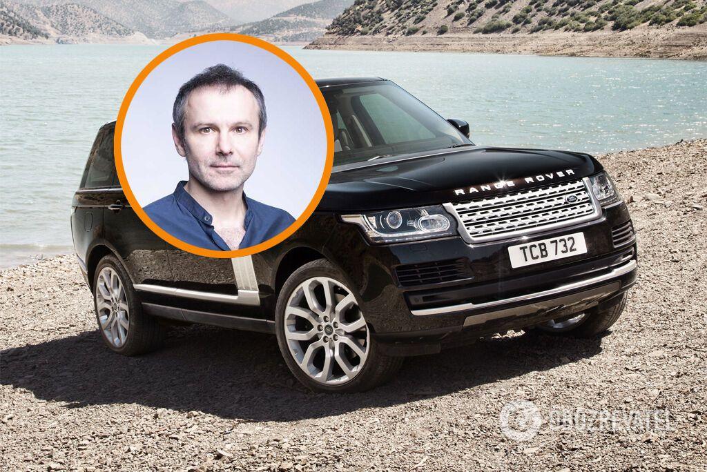 Святослав Вакарчук любит BMW, но ездит на Range Rover