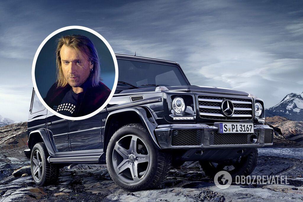 Олег Винник выбрал Mercedes-Benz G-Class за его проходимость на украинских дорогах
