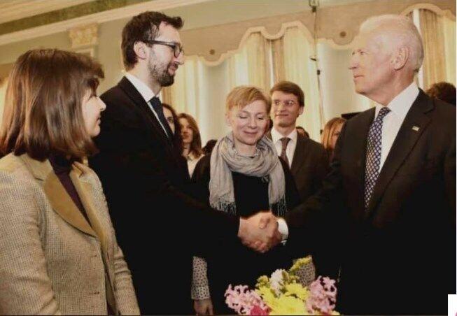 Лещенко та зустріч з Байденом.