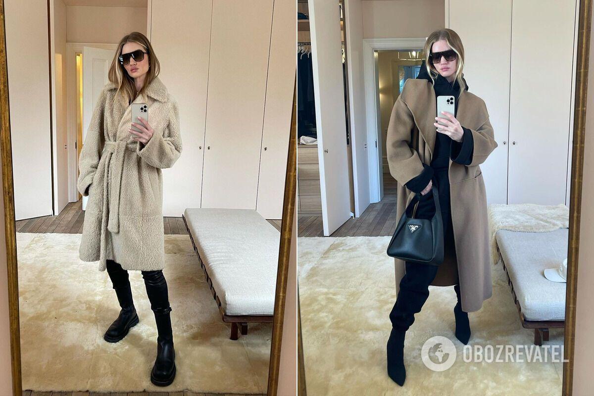 Роузи Хантингтон-Уайтли поделилась с модницами  образами