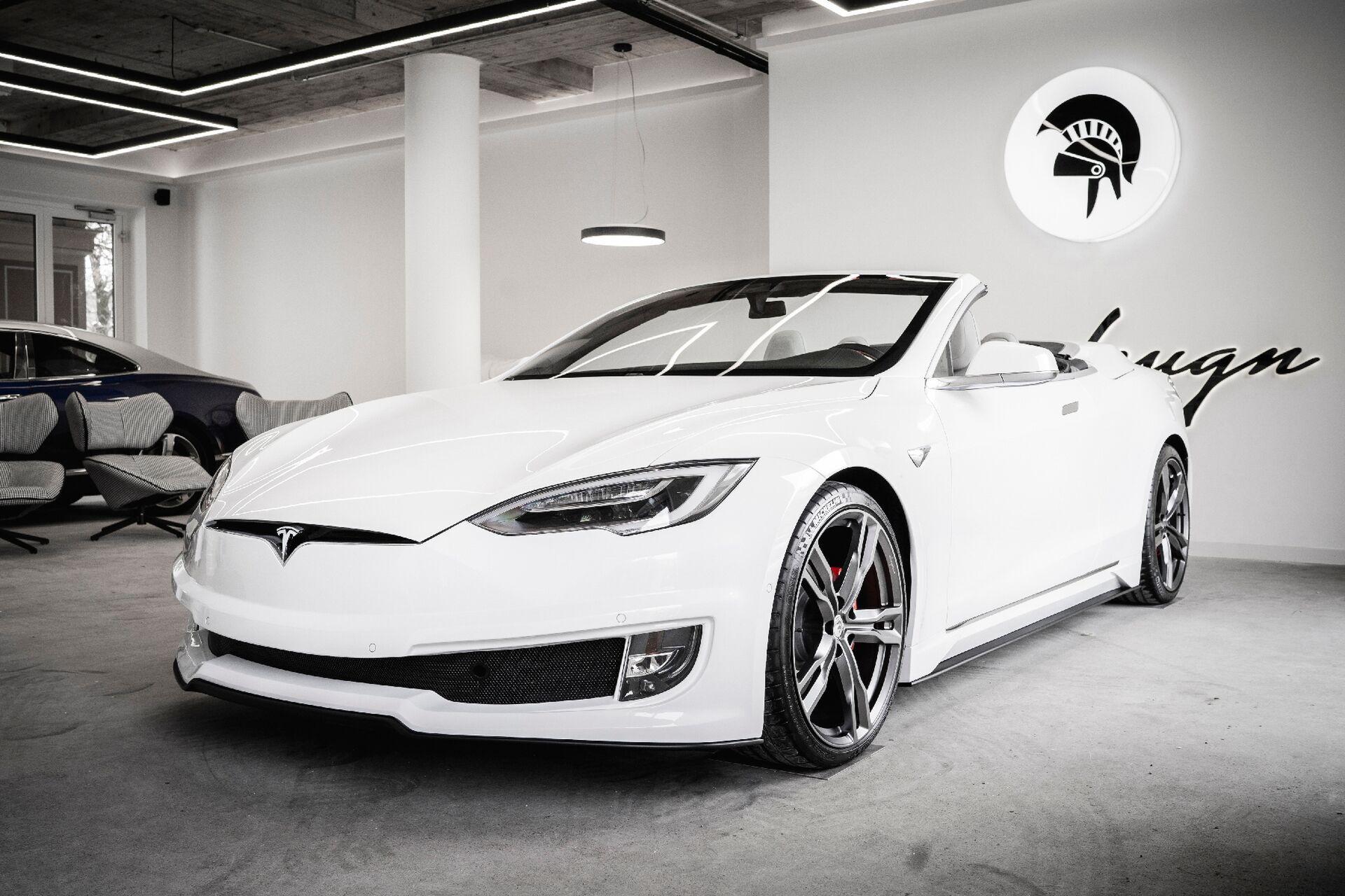 Під час створення новинки були використані компоненти від Tesla та Bentley
