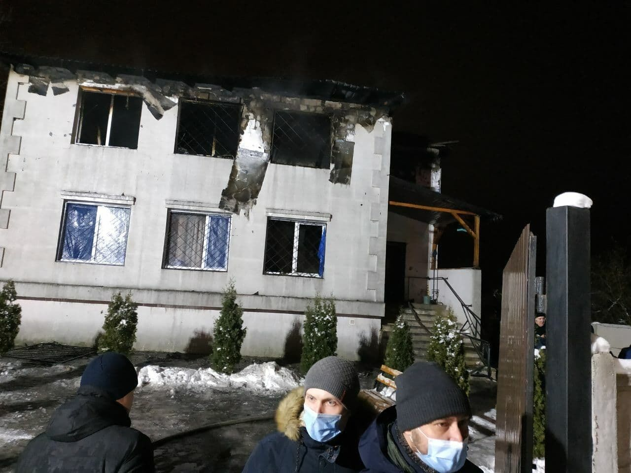 Дом престарелых в Харькове, где погибли 15 человек