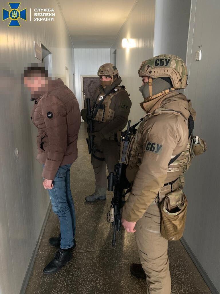 Затримання терориста на Одещині