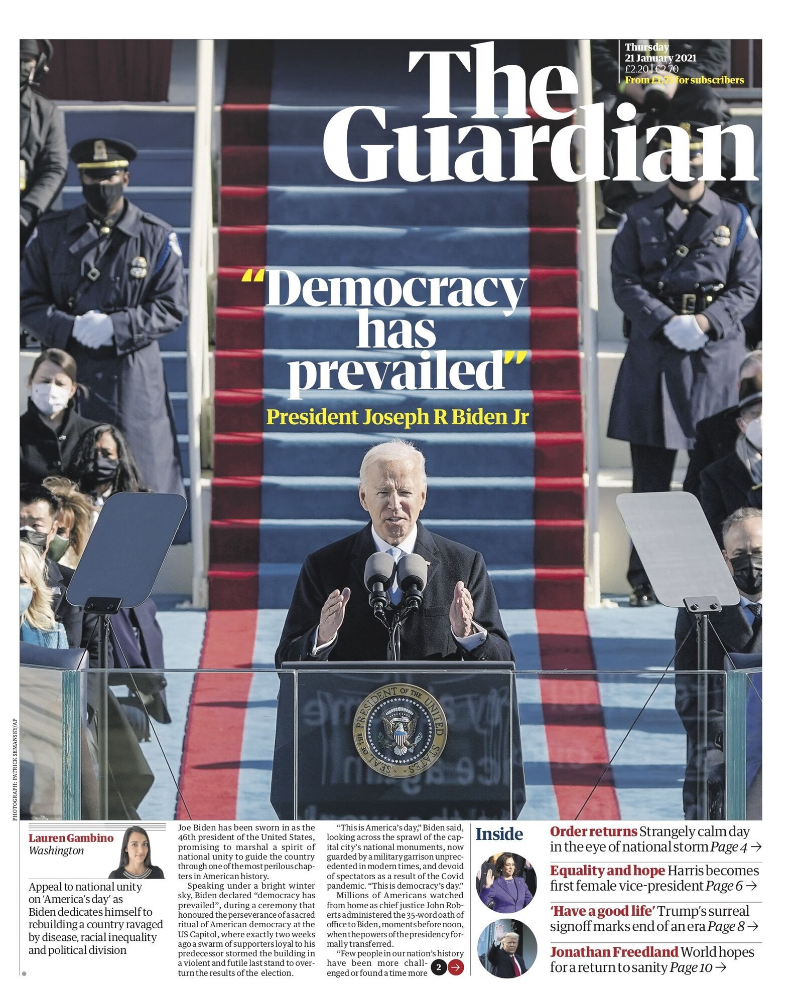 Обкладинка The Guardian