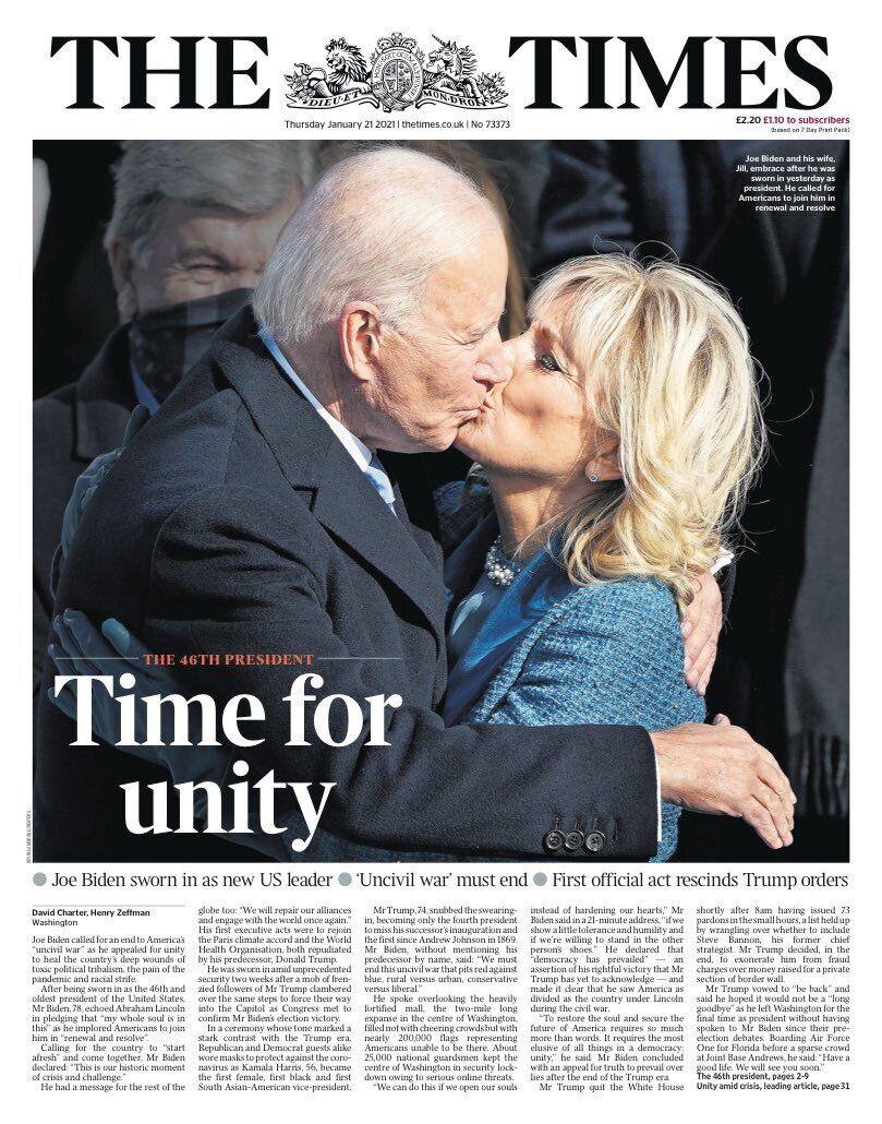 Обкладинка The Times