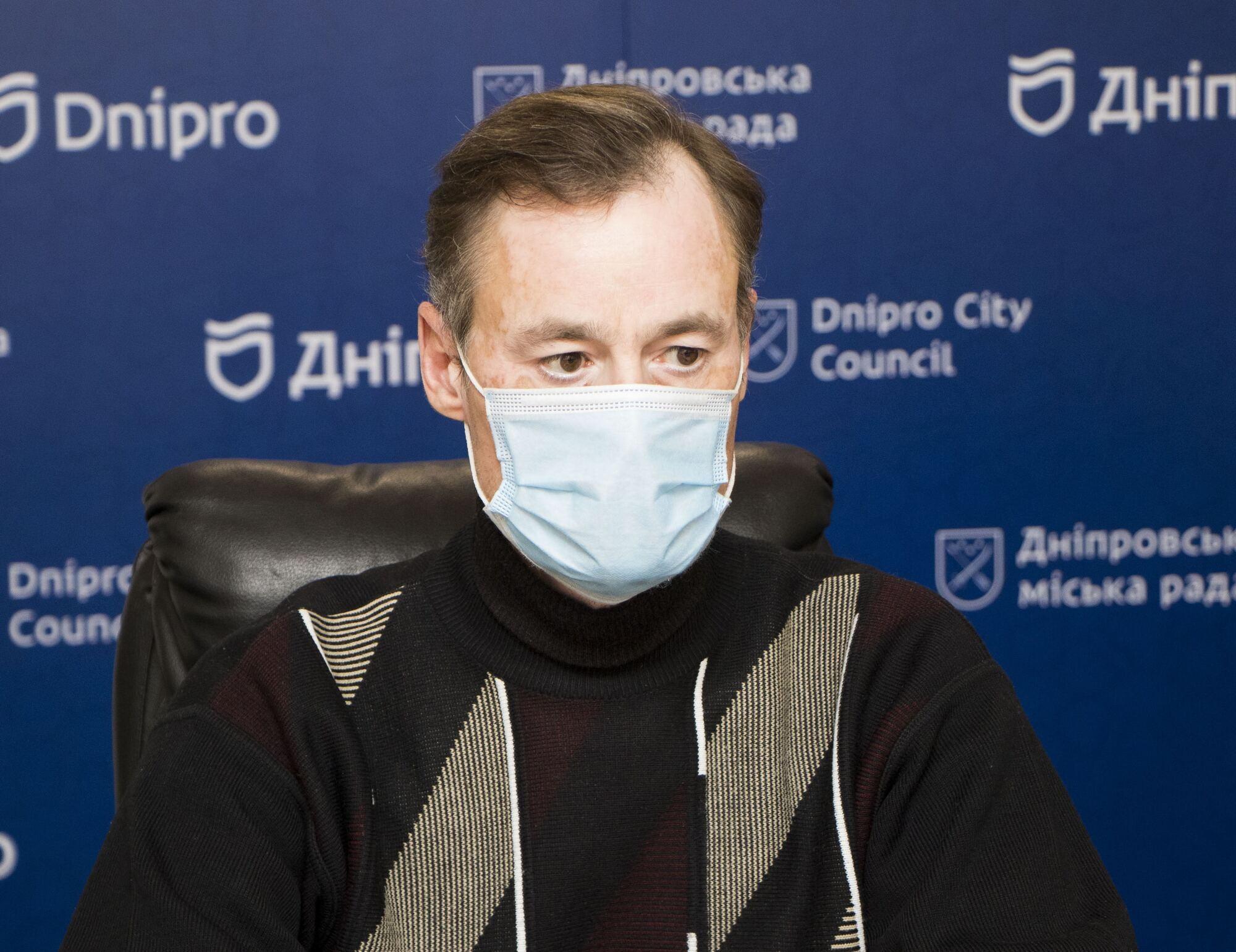 Заступник начальника управління Олексій Міхєєв