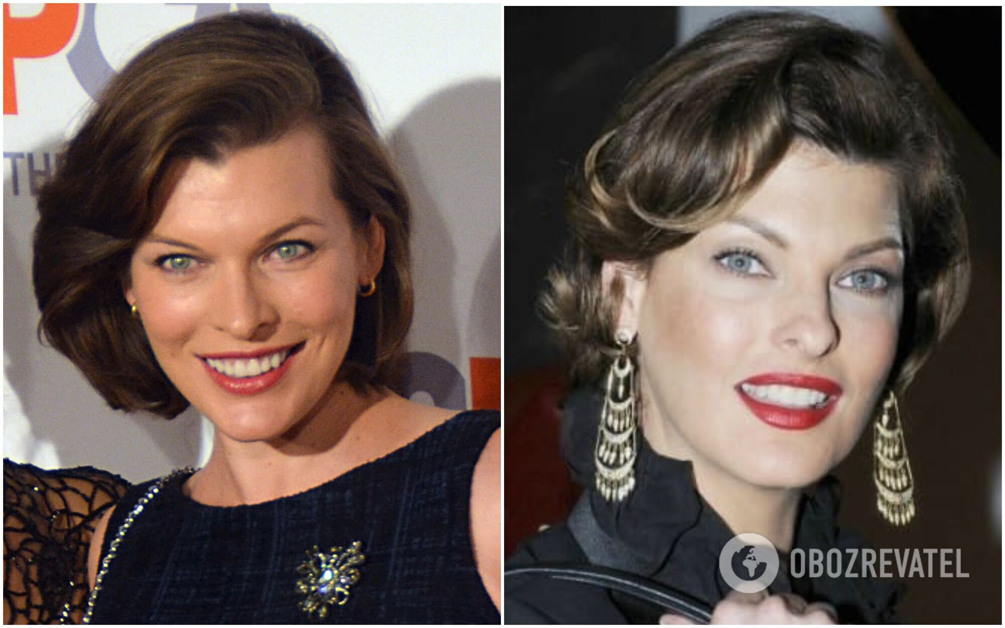 Милла Йовович и Линда Евангелиста выглядят как двойники