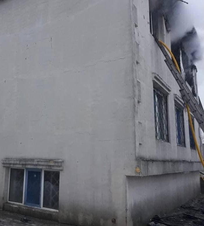 В пожаре в харьковском пансионате для престарелых погибли 15 человек