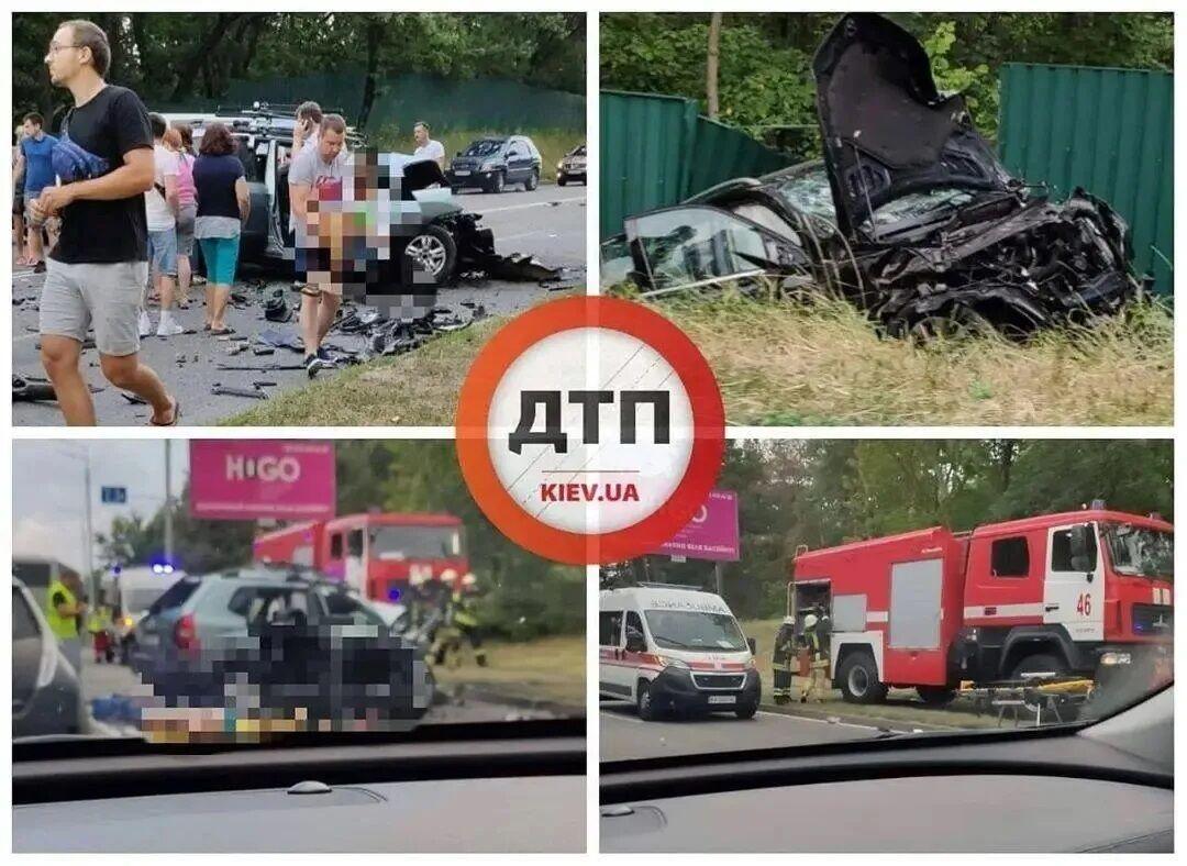 В страшной аварии погибли четверо человек