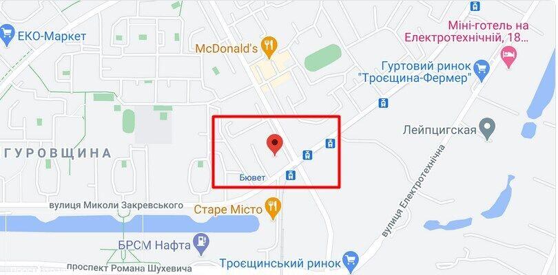 У Деснянському районі трапився напад на патрульного поліцейського
