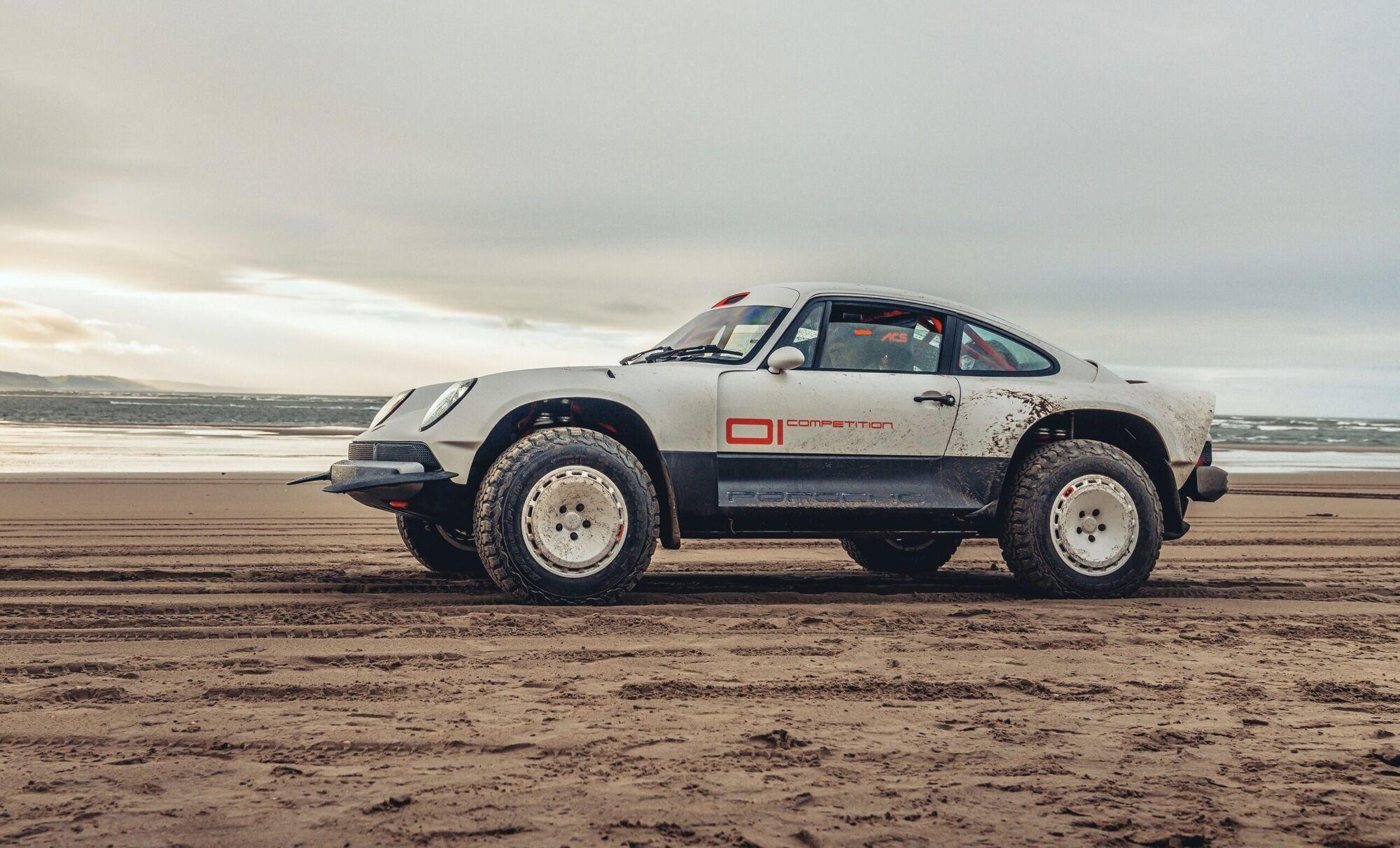 Автомобіль став своєрідною даниною поваги до гоночних машин Porsche