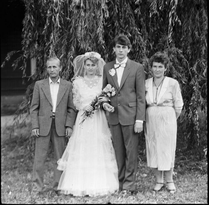 Фотограф з Білорусі знайшов плівку з кадрами весілля часів СРСР