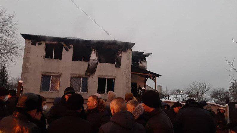 В Харькове погибли 15 человек в пожаре