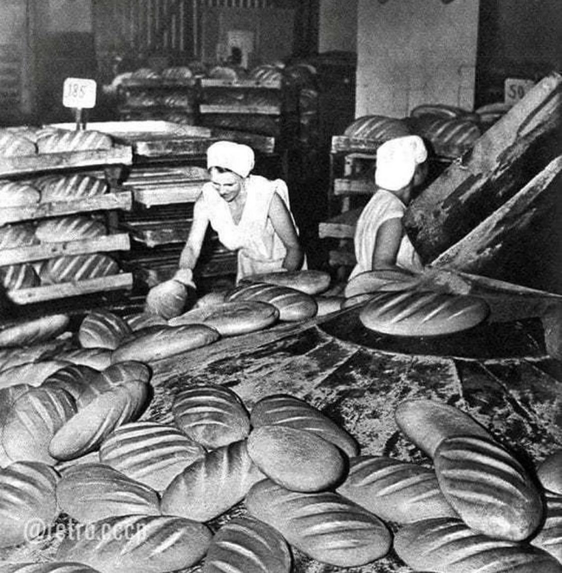 Фото с советской хлебопекарни
