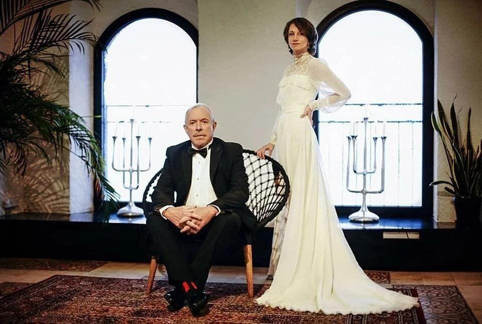 Андрей Макаревич и Эйнат Кляйн на свадьбе