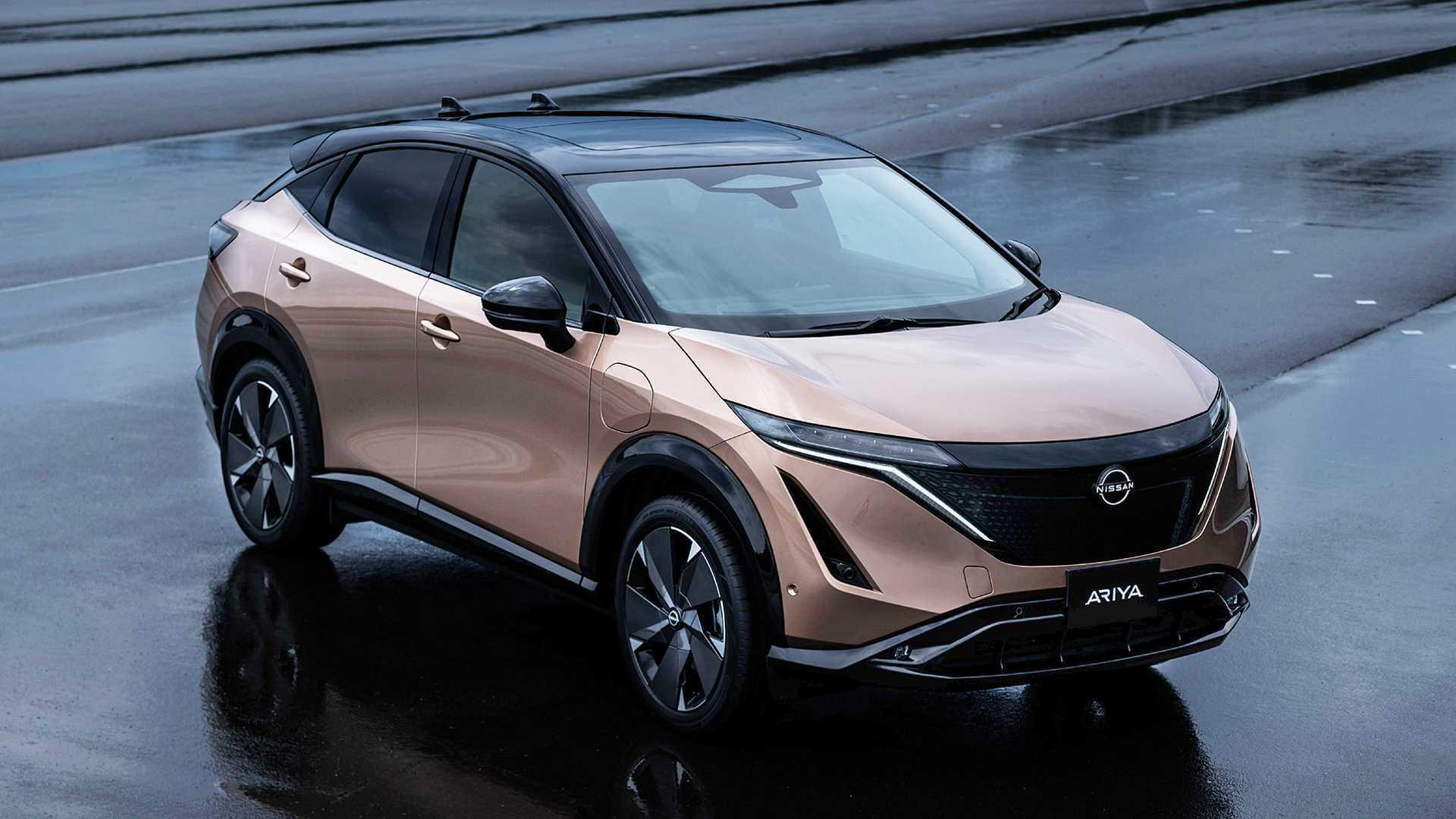 Nissan Ariya продаватиметься в Україні