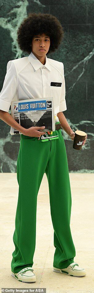 Модели Louis Vuitton скопировали образы