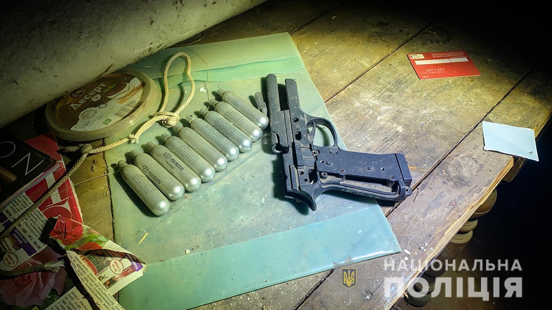 У стрелка изъяли оружие и патроны