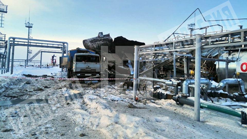 В результате взрыва погибло два человека