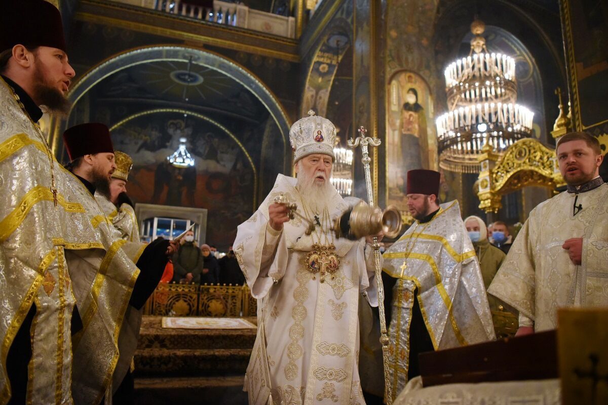 Филарет обвинил президента Петра Порошенко и предстоятеля ПЦУ Епифания в невыполнении обещаний