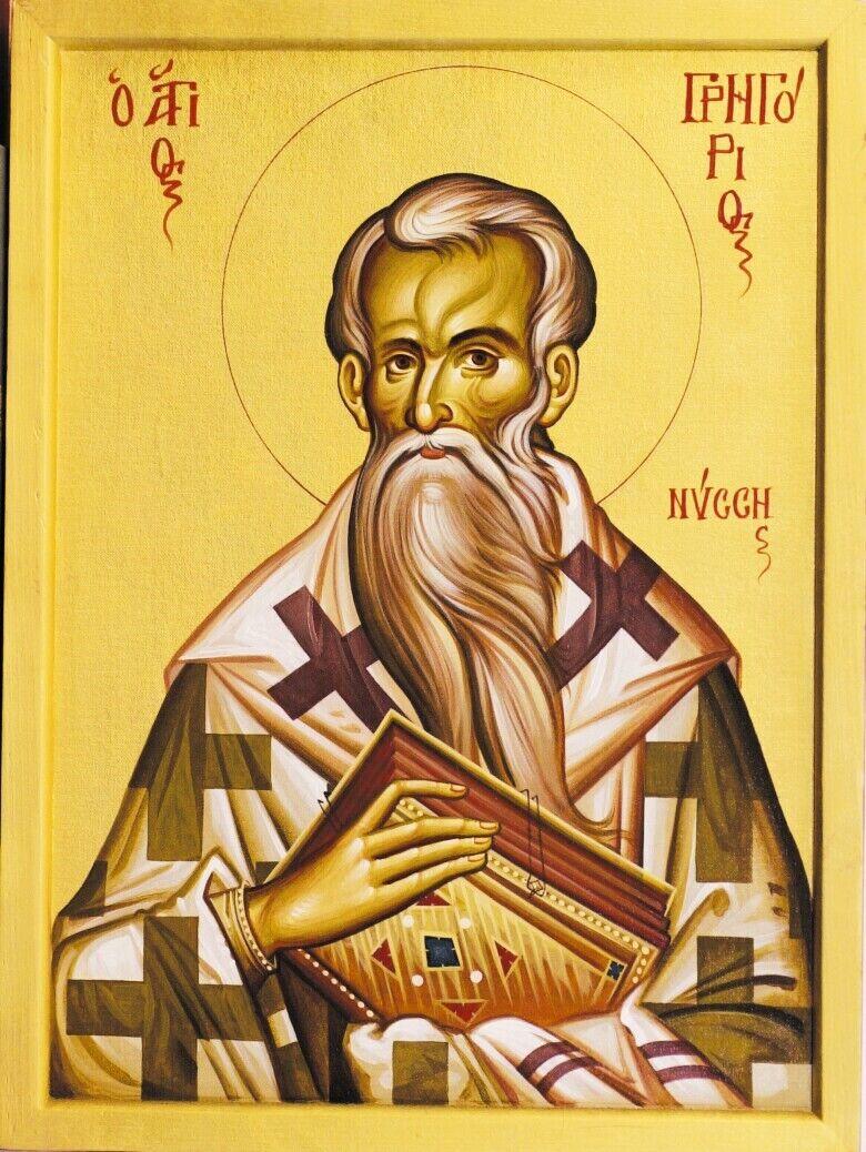 Святитель Григорий Нисский жил в 335-394 годах в Каппадокии