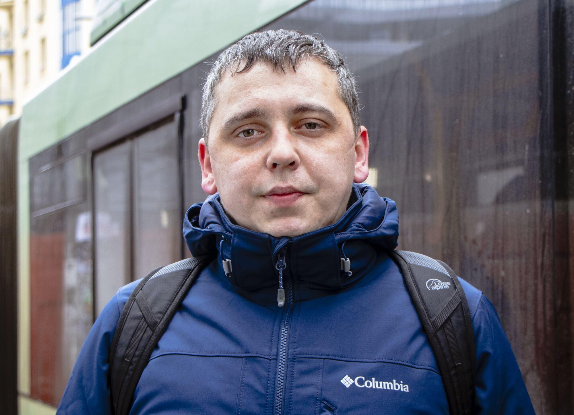 Специалист департамента транспорта и транспортной инфраструктуры ДМР Иван Васючков