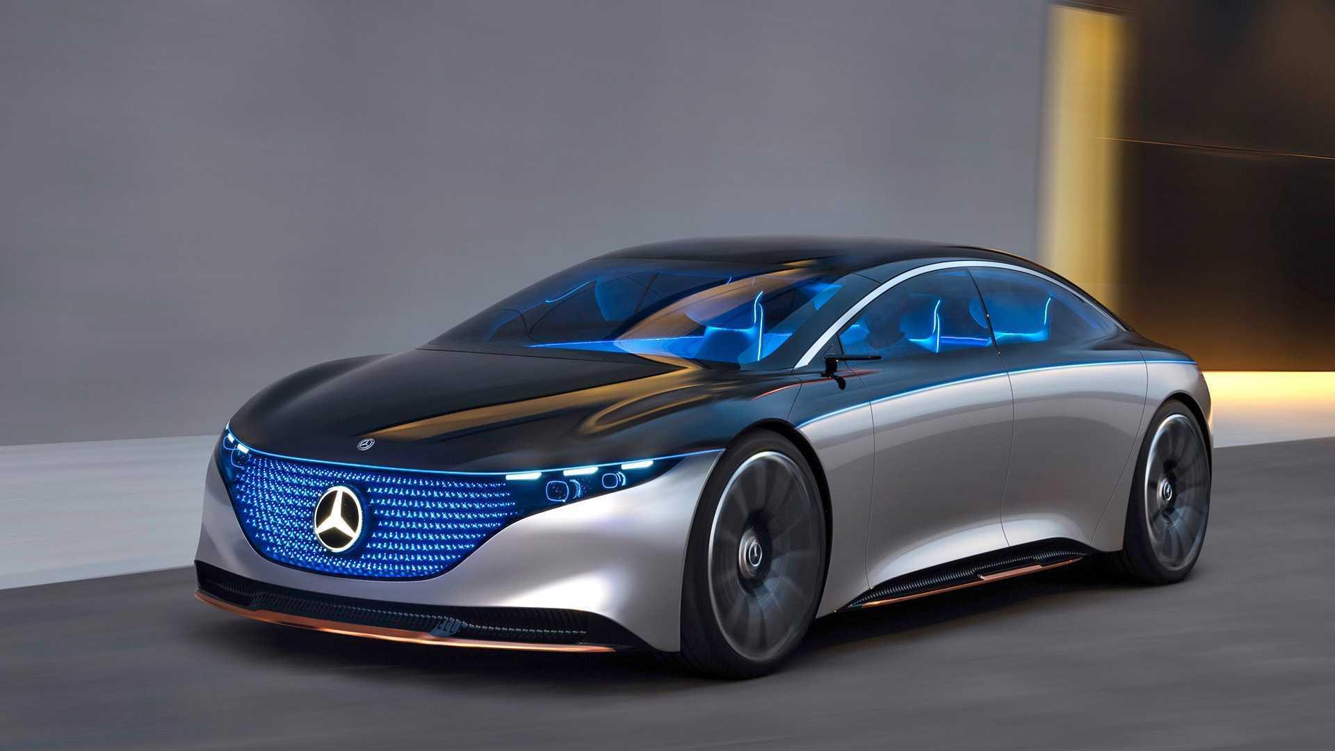 Mercedes EQS буде схожий на концепт
