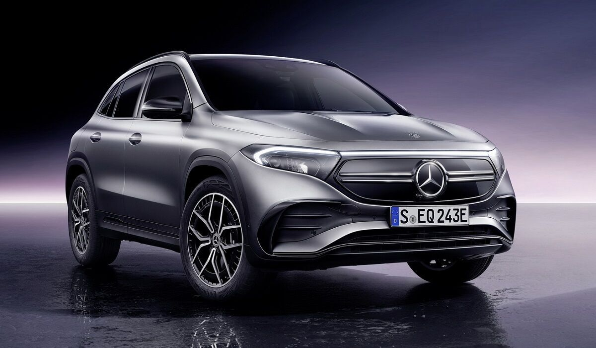 EQA – нині це найновіший електрокар Mercedes