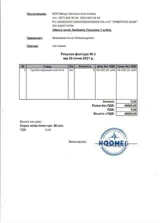 Необходима сумма в 156 тысяч гривен