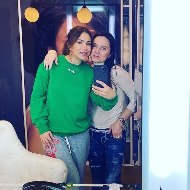 Лилия Подкопаева с Ани Лорак